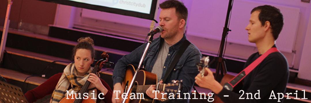 Music Team Training