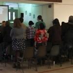 Sunday gatherings in Synge Street Secondary School