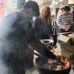 BBQ in Synge Street Secondary School