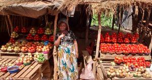 Zambia Fruit Stall